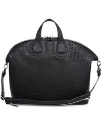 Givenchy - Nightingale Perforated Leather Bag - Lyst