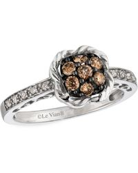 Le Vian - Chocolatier Diamond & 14k White Gold Ring - Lyst
