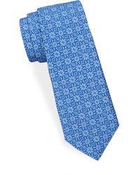 Saks Fifth Avenue - Intricate Silk Tie - Lyst