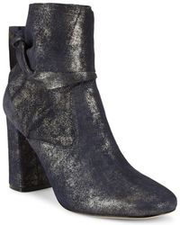 Sigerson Morrison - Sally Ankle-wrap Leather Boots - Lyst