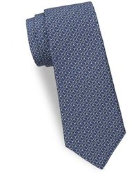 Saks Fifth Avenue - Horse Bit Silk Tie - Lyst