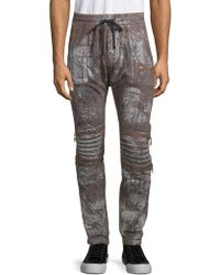 Robin's Jean - Harem Cotton Jogger Trousers - Lyst