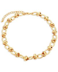 Kenneth Jay Lane - Link Spacer Necklace - Lyst