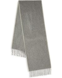 Saks Fifth Avenue - Boxed Fringed Cashmere Scarf - Lyst