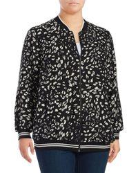 Vince Camuto - Plus Patterned Print Jacket - Lyst