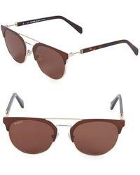 Balmain - 52mm Clubmaster Sunglasses - Lyst