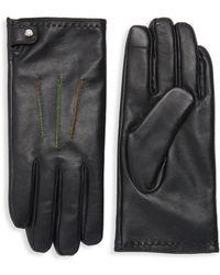 Robert Graham - Tomlinson Leather Gloves - Lyst