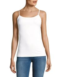 Saks Fifth Avenue Black - Basic Camisole - Lyst