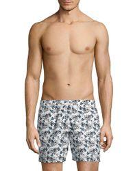 Slate & Stone - Printed Swim Shorts - Lyst