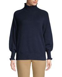 Rebecca Taylor - Ruffled Raglan-sleeve Sweater - Lyst