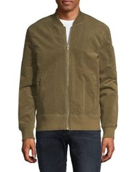 Threads For Thought - Textured Bomber Jacket - Lyst