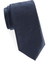 Brioni - Zigzag Silk Tie - Lyst
