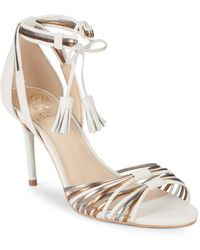 Vince Camuto - Stellima Ankle-strap Leather Sandals - Lyst
