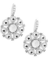 Roberto Coin - Margherita Diamond & Mother-of-pearl Drop Earrings - Lyst