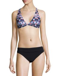 La Blanca - Vision Halter Bikini Top - Lyst