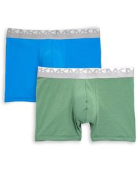 Michael Kors - Two-pack Stretch-cotton Boxer Briefs - Lyst