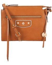 Lodis - Pismo Pearl Kay Accordion Leather Crossbody Bag - Lyst