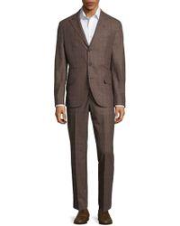 Brunello Cucinelli - Plaid Suit - Lyst