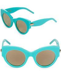 Pomellato - 48mm Cat-eye Sunglasses - Lyst