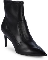 Charles David - Pride Point Toe Leather Booties - Lyst