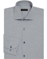 Saks Fifth Avenue - Basket Design Regular-fit Dress Shirt - Lyst