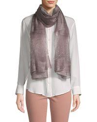 Saachi - Star Gazer Embellished Silk Scarf - Lyst