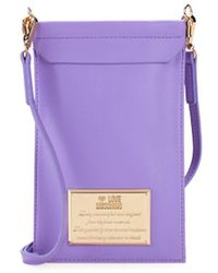 Love Moschino - Open Top Cell Phone Case - Lyst