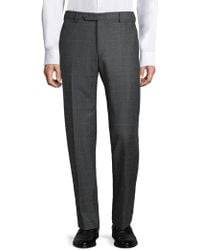 Zanella - Parker Prince Plaid Wool Pants - Lyst