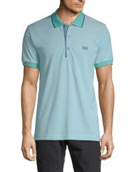 BOSS - Classic Cotton Polo - Lyst