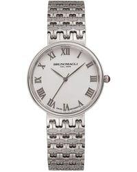 Bruno Magli - Isabella Stainless Steel Swiss Quartz Bracelet Analog Watch - Lyst