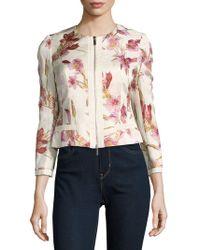 Karen Millen - Relaxed Printed Jacket - Lyst