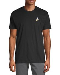 Riot Society - Banana Embroidered Cotton Tee - Lyst