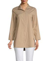 Lafayette 148 New York - Marla Long Sleeve Blouse - Lyst