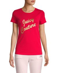 Juicy Couture - Logo Short-sleeve Tee - Lyst