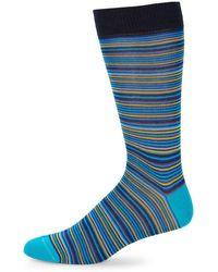 Saks Fifth Avenue - Cotton Stripe Socks - Lyst
