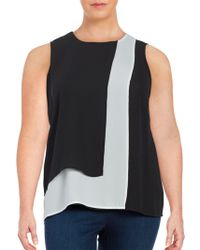Vince Camuto - Sleeveless Popover Top - Lyst