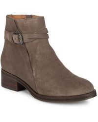 Gentle Souls - Percy Buckle Leather Booties - Lyst