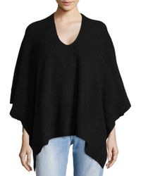 NAKEDCASHMERE - Scoopneck Cashmere Poncho - Lyst