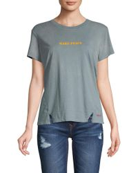 Peace Love World - Anne Make Peace Graphic T-shirt - Lyst