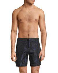 Giorgio Armani - Camouflage Swim Shorts - Lyst