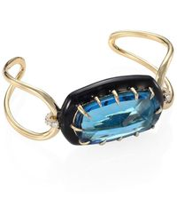Alexis Bittar - Elements Cushion Crystal Cuff - Lyst