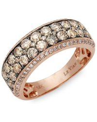 Le Vian - Chocolatier®14k Honey Goldtm, Chocolate & Vanilla Diamond® Ring - Lyst