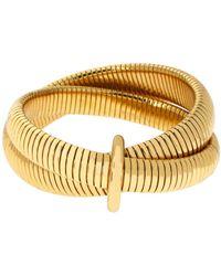 Diane von Furstenberg - Grand Prix Double Snake Bracelet - Lyst