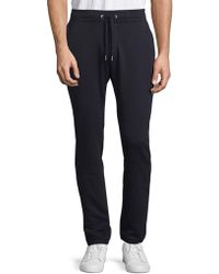 The Kooples Sport - Cosy Cotton Trousers - Lyst