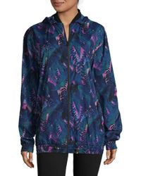 We Are Handsome - Tropical-inspired Hooded Zipper Jacket - Lyst