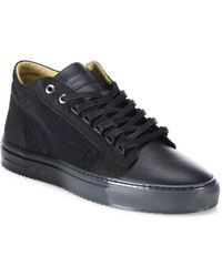 Android Homme - Margom Nubuck Caviar Mid-top Sneakers - Lyst