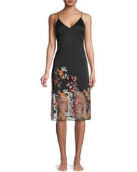 Natori - Embroidered Chemise - Lyst