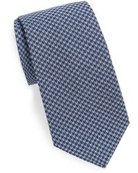 Saks Fifth Avenue - Check Silken Tie - Lyst