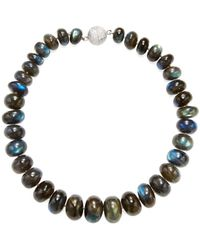 Arthur Marder Fine Jewelry - Silver Single Strand Necklace - Lyst
