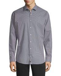 Strellson - Printed Long-sleeve Shirt - Lyst